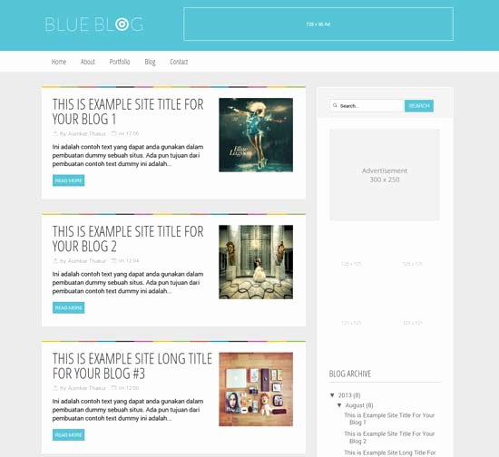 Top 10 Best Free Responsive Blogger Templates 2017 Techleash