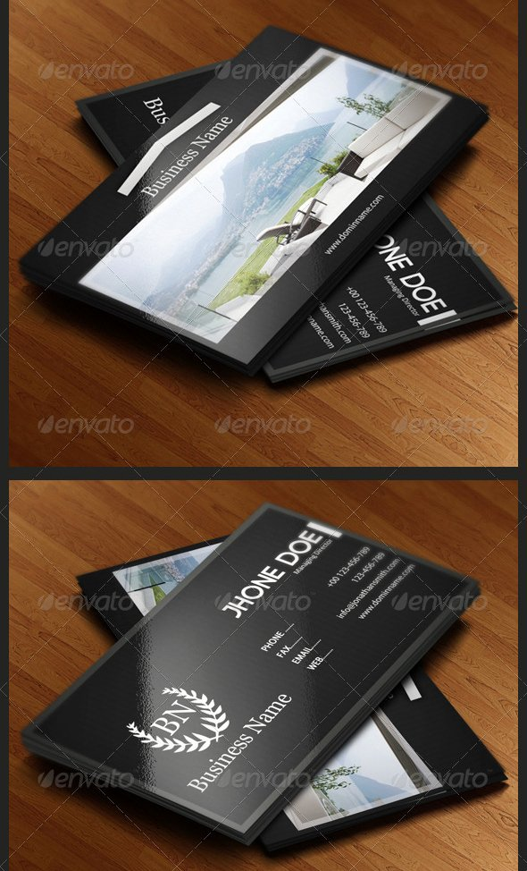 Top 10 Best Real Estate Business Cards Templates