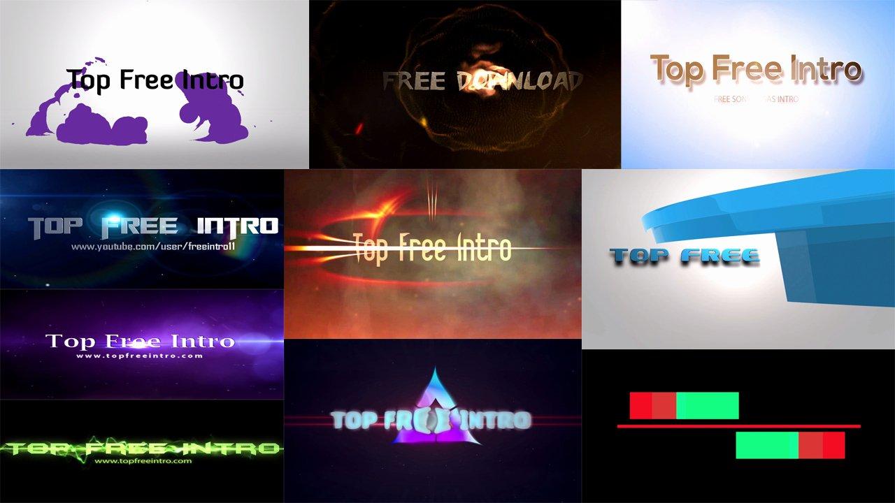 Top 10 Free Intro Templates 2016 sony Vegas No