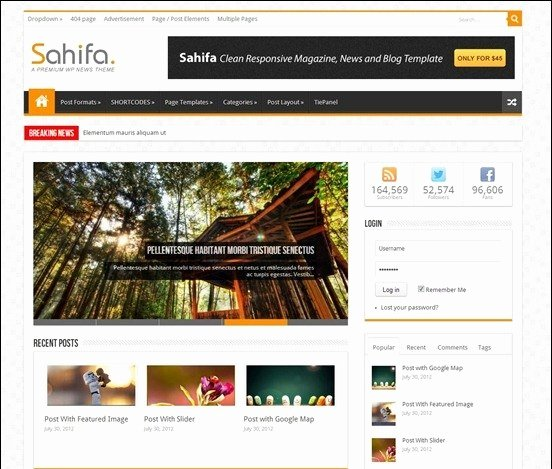 Top 10 Responsive Blogger Templates Free Download 2018