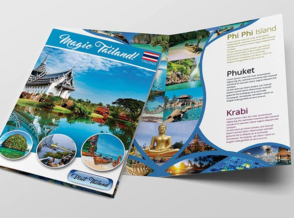 Top 20 Free Vacation & Travel Brochure Templates In Psd