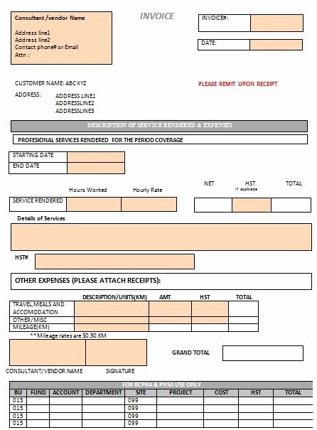 free cleaning invoice templates