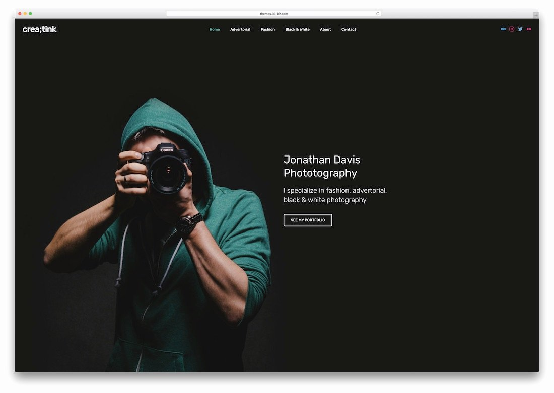 Top 34 HTML5 Graphy Website Templates 2018 Colorlib