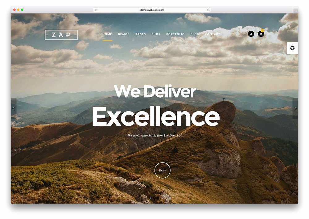 Top 34 HTML5 Graphy Website Templates 2018 Colorlib