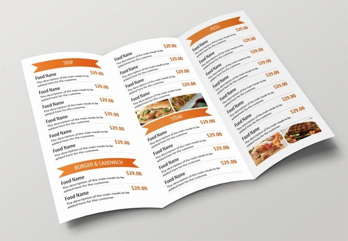 Top 5 Free Restaurant Menu Templates Word Templates