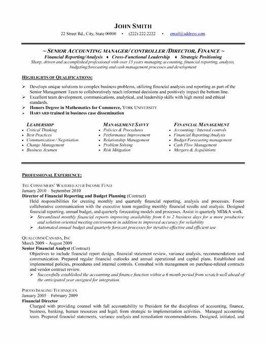 Top Accounting Resume Templates & Samples