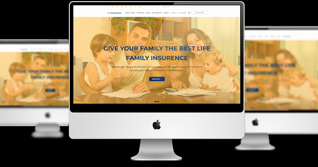 Top Best Joomla Insurance Agent Website Templates