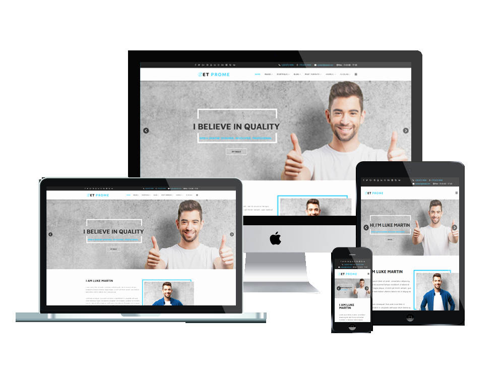 Top Best Joomla Personal Website Template Free Download