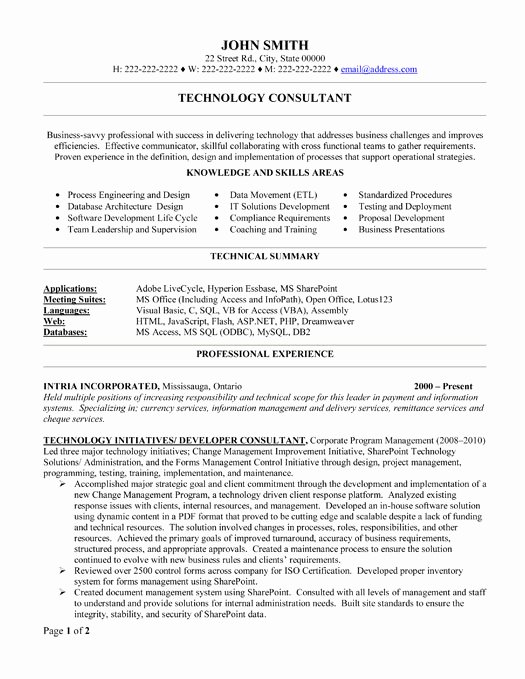 Top Consulting Resume Templates & Samples