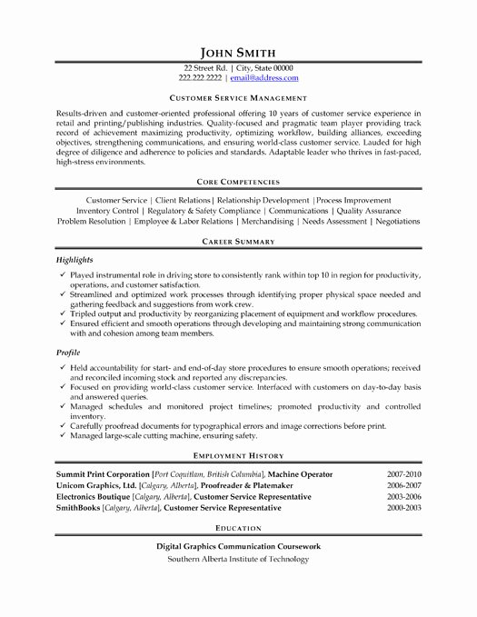 Top Customer Service Resume Templates & Samples