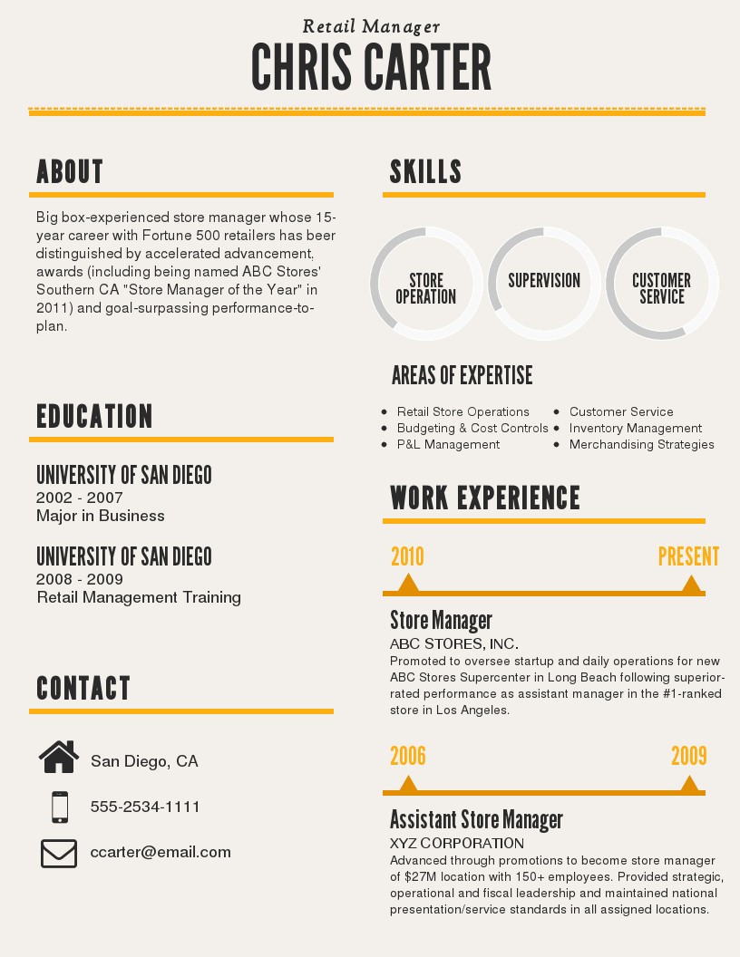 Top Notch Resume Templates 2019