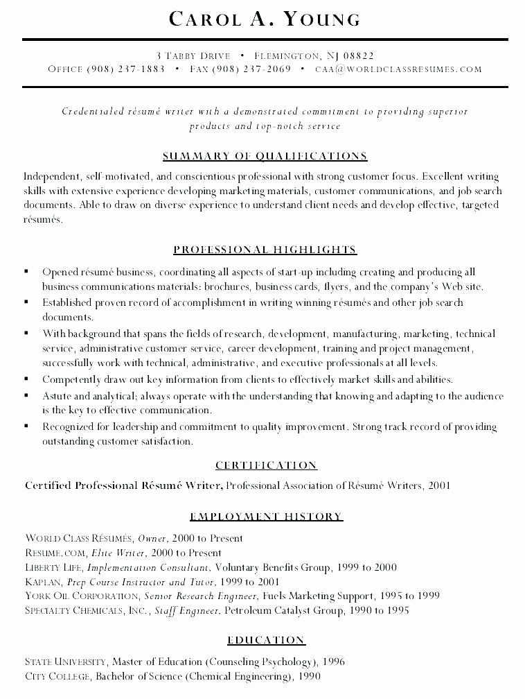 Top Notch Resumes How to Present A Resume Cover Letter
