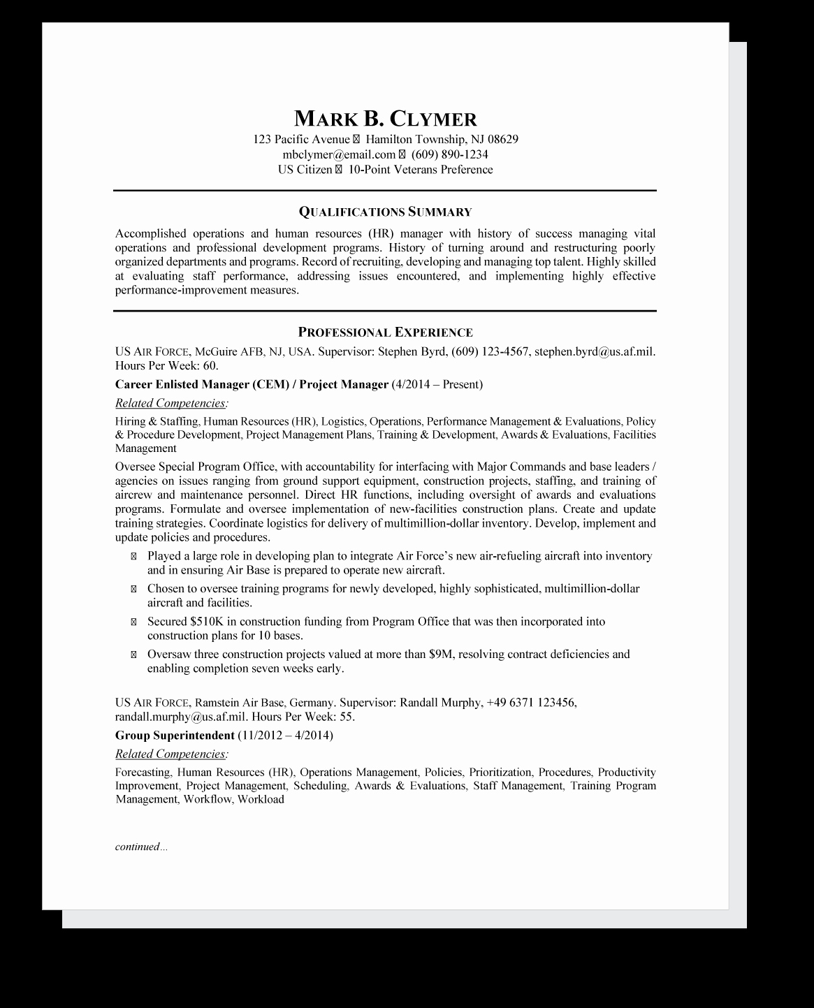 Top Resume Tips for Writing A Federal Resume