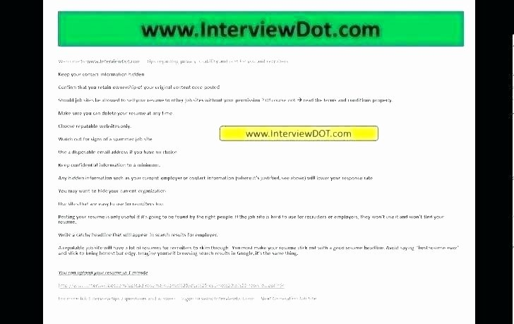 Top Sites to Post Resume 2016 Best Websites Website Line