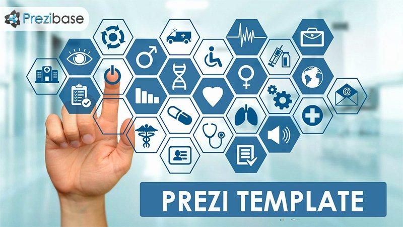 Touchscreen – Medical Prezi Template