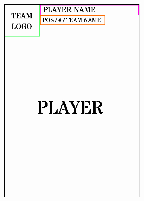 Trading Card Template
