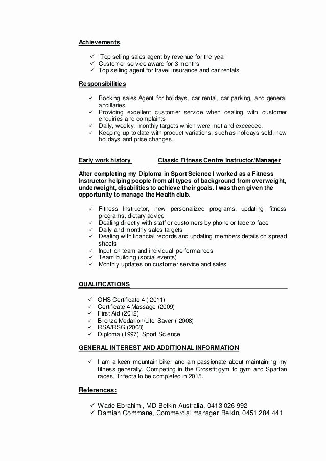 Travel Agent Resume Examples Corporate Travel Agent Resume
