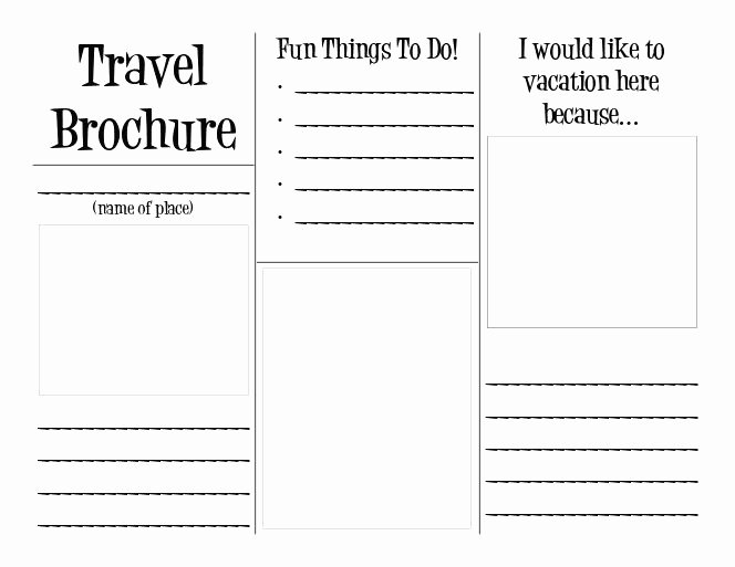 Travel Brochure Project Template
