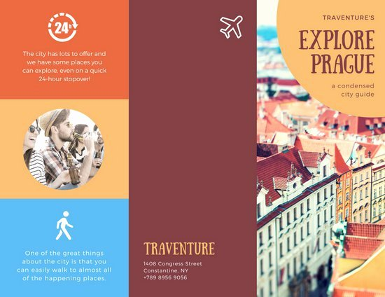 Travel Brochure Template Csoforumfo
