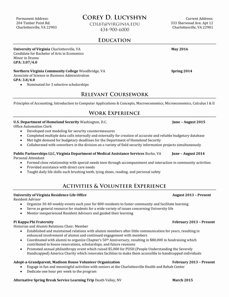 Trendy Bartender Resume Job Description