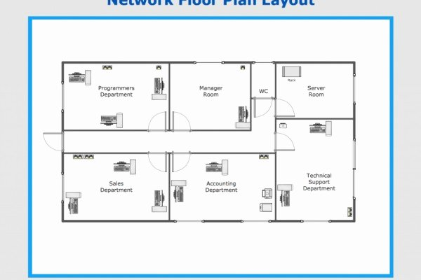 Trendy Fice Layout Floor Plan Template – Fice Furniture