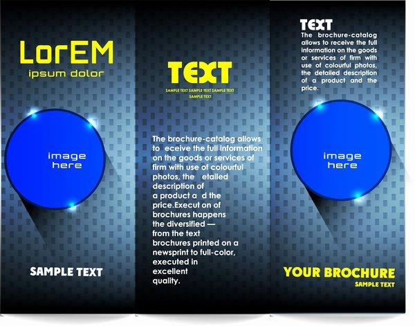 Tri Fold Brochure Template Free Vector 14 132