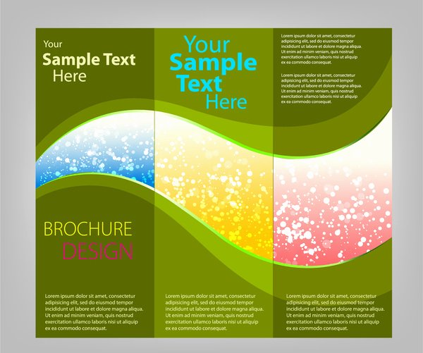 Tri Fold Brochure Template Free Vector 14 132