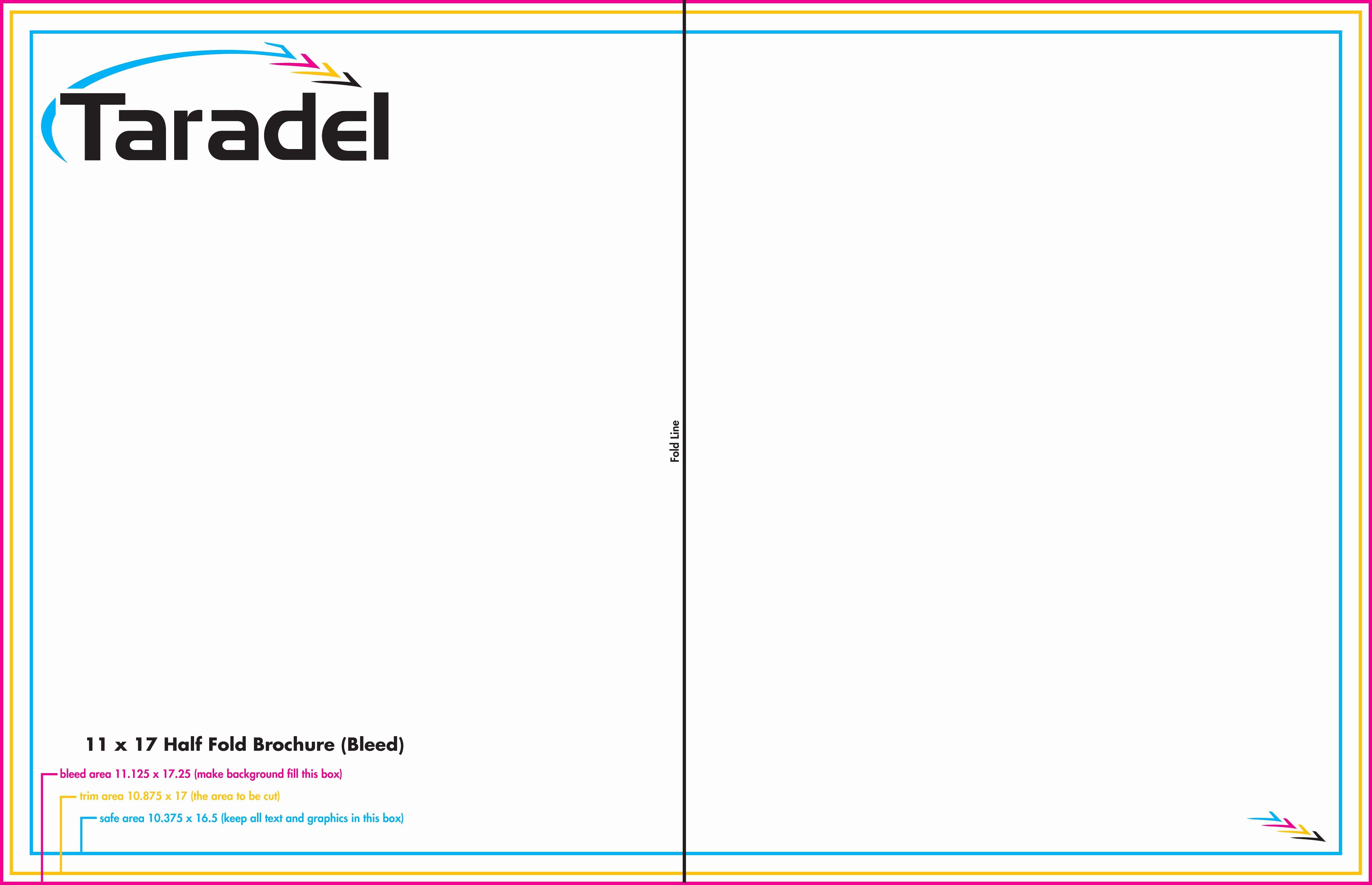 Tri Fold Brochure Template Illustrator Choice Image