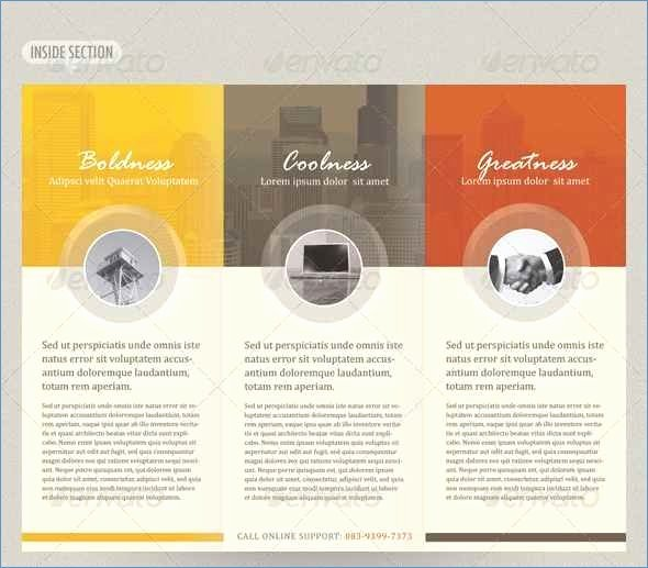 Tri Fold Brochure Template Powerpoint