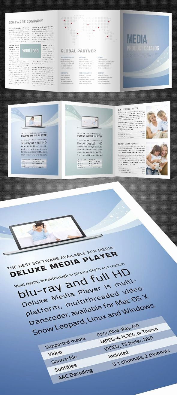 Tri Fold Catalogue Template Ysi Work Pinterest