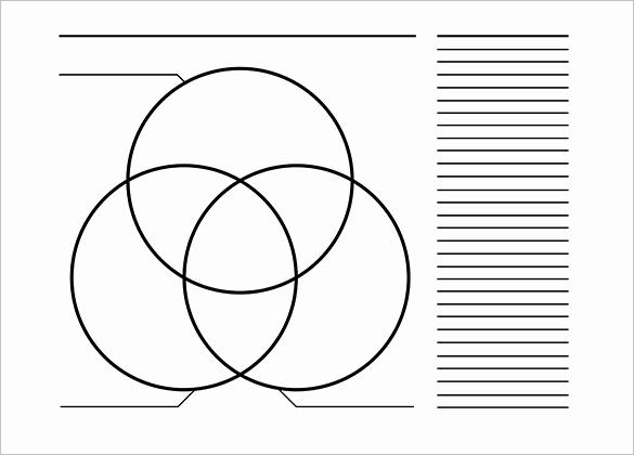 Triple Venn Diagram Templates 9 Free Word Pdf format