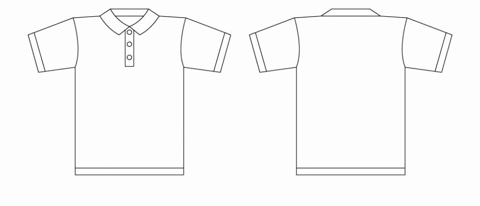 Tshirt Illustrator Template Clipart Best