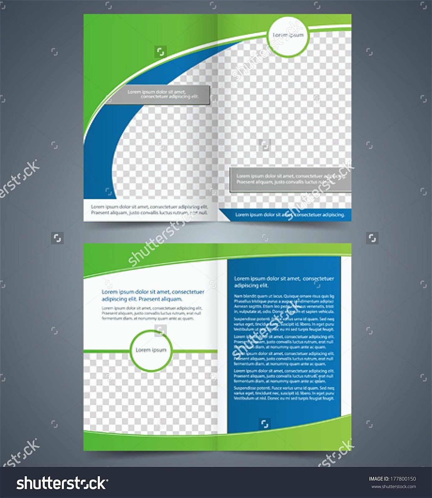 Two Fold Brochure Template