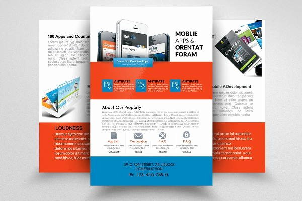Two Sided Brochure Template Word