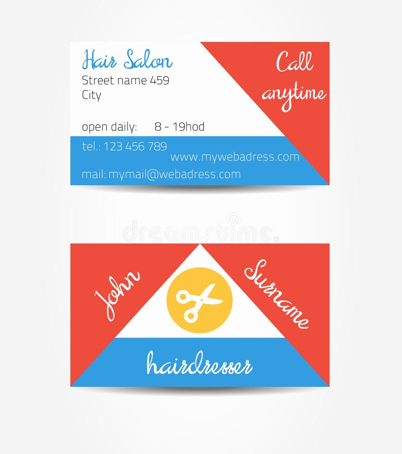 Two Sided Eccentric and Extraordinary Business Cards