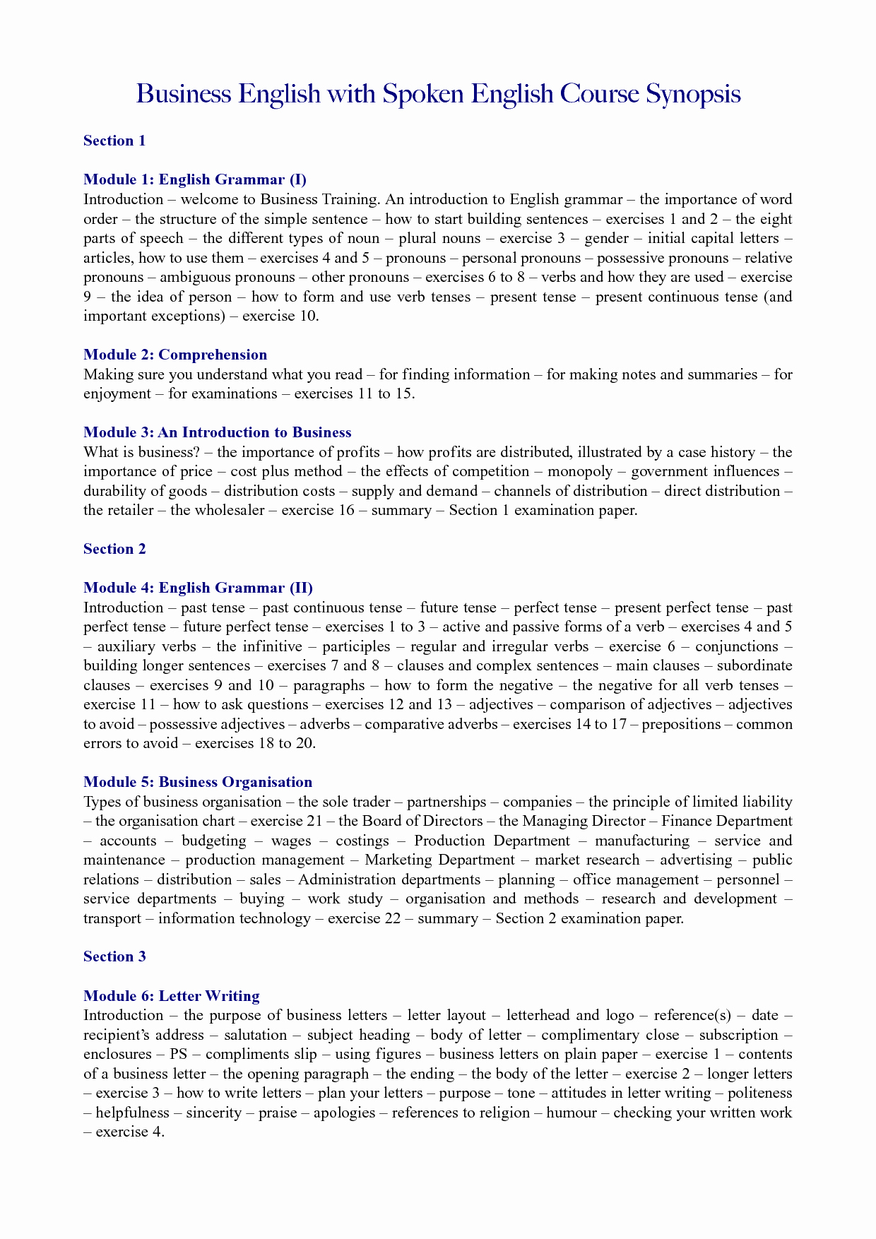 Types Business Letter and their Examples 1000 Ideas