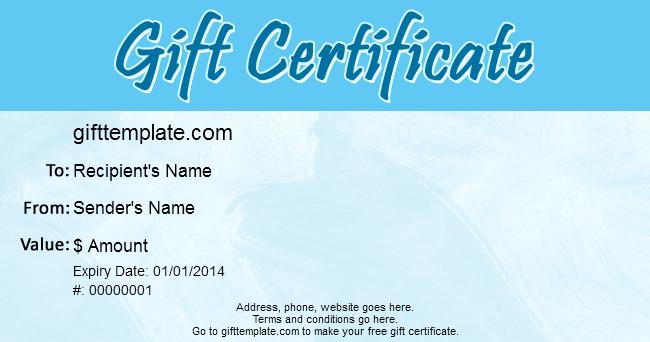 Ubuntu Corner Gift Certificate Templates