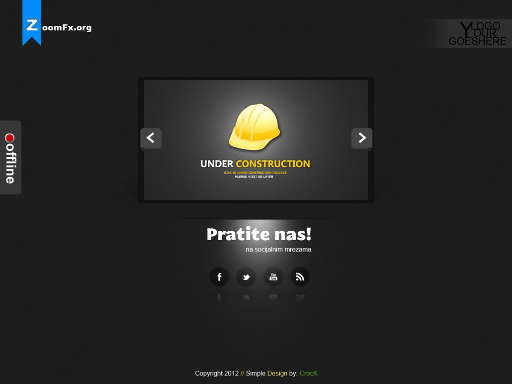 Under Construction Free Psd – Over Millions Vectors Stock