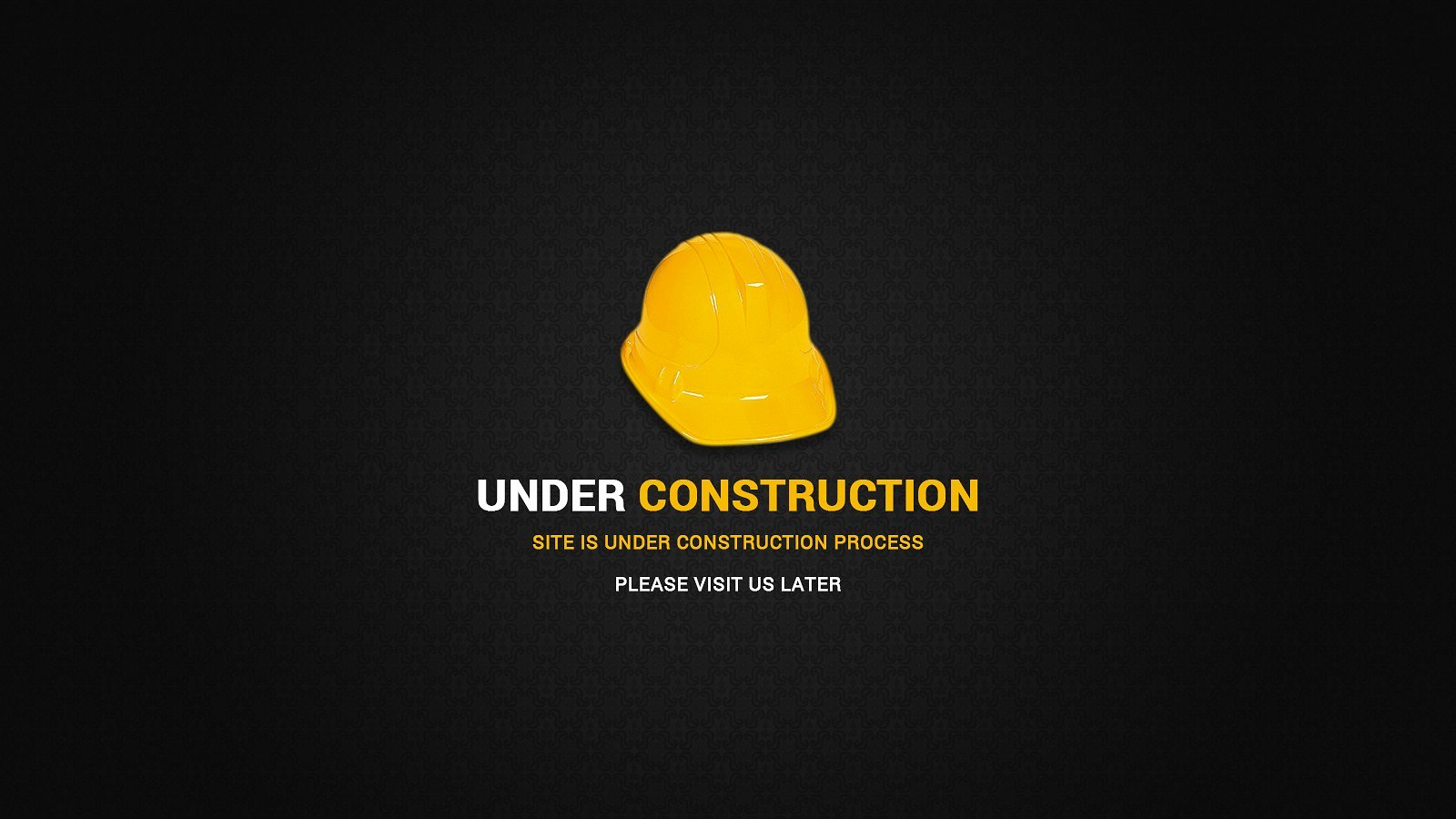Under Construction Page Web Elements Creative Market