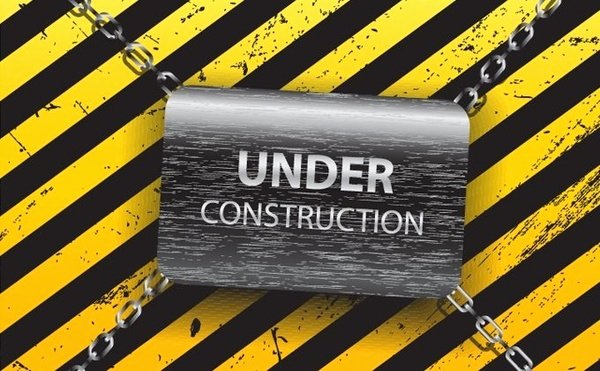 Under Construction Template Free Vector In Encapsulated