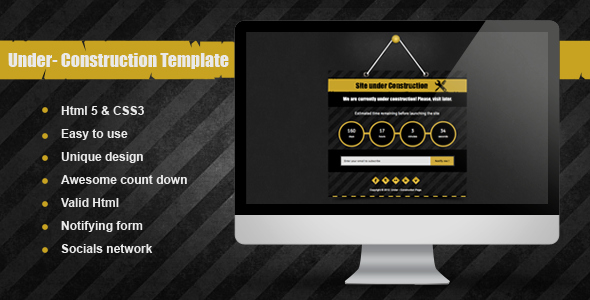 Under Under Construction Template by Mutationthemes