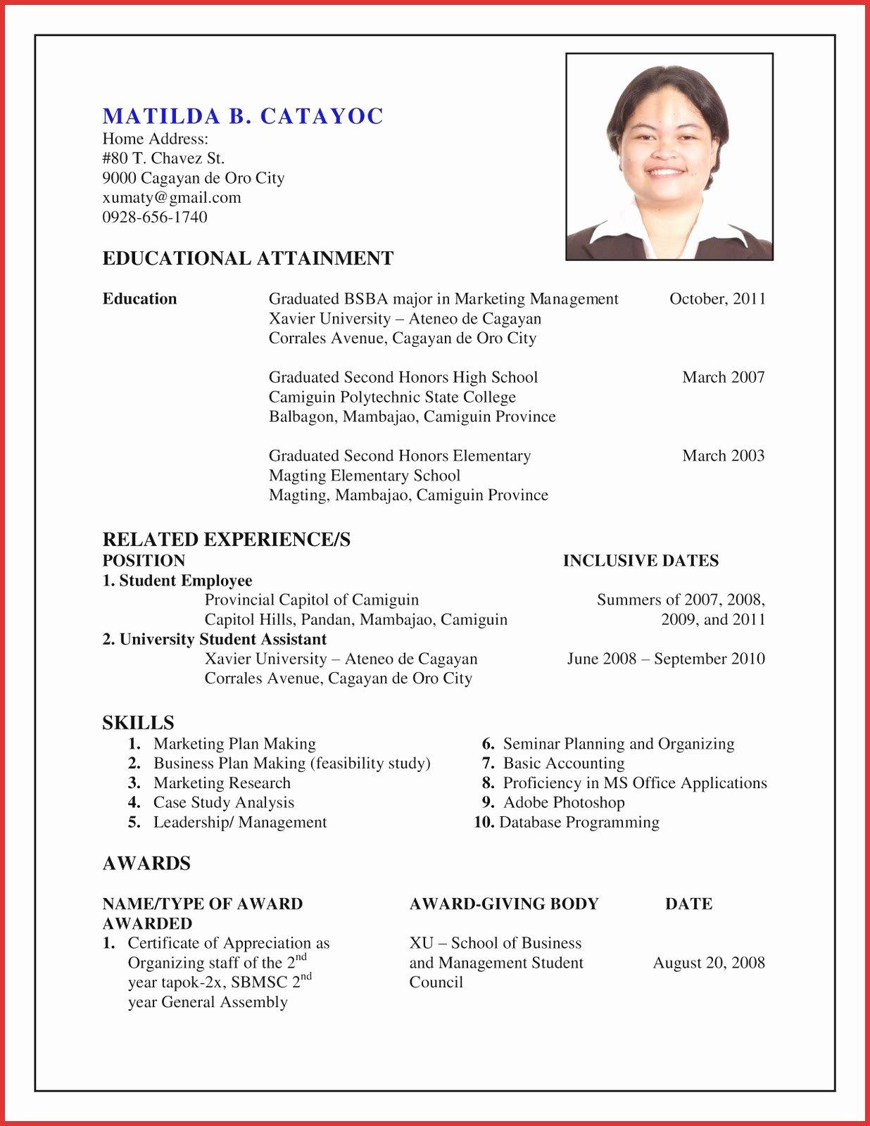 Unique How to Create Resume
