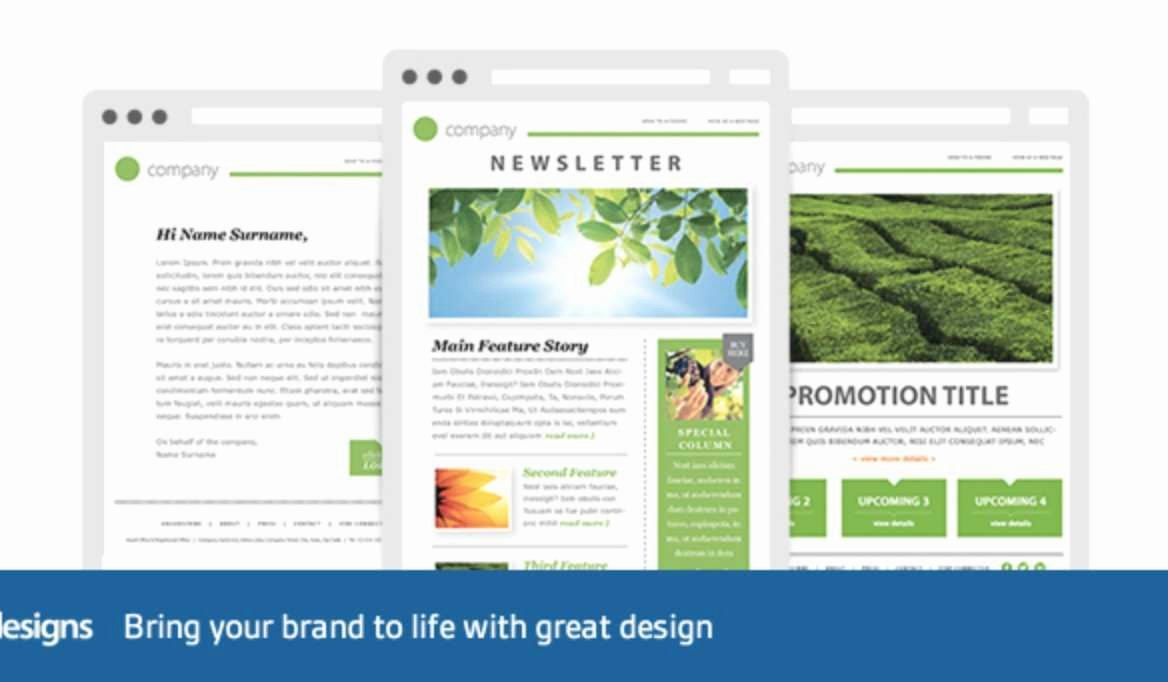 Unique Outlook Email Marketing Templates Free