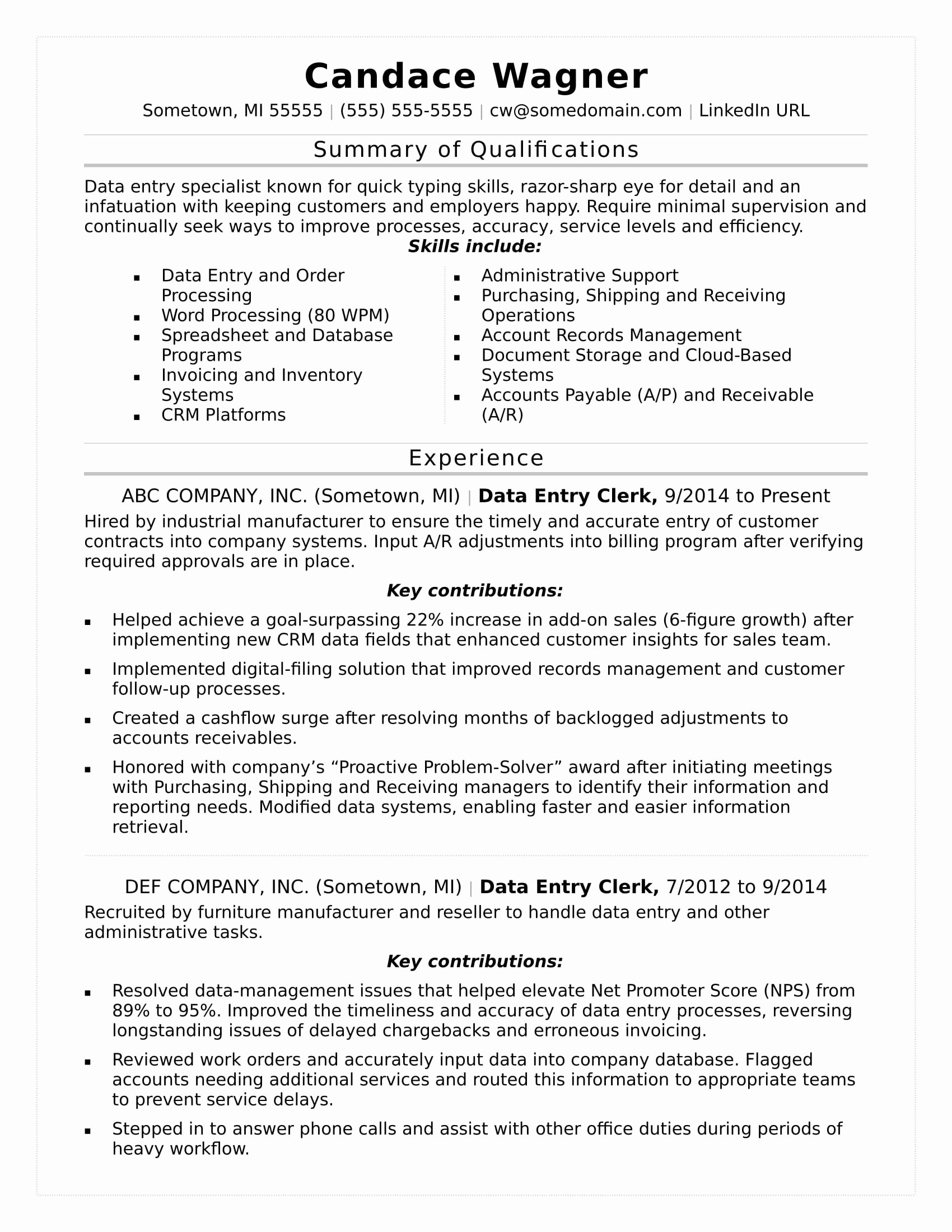 Update My Resume Monster