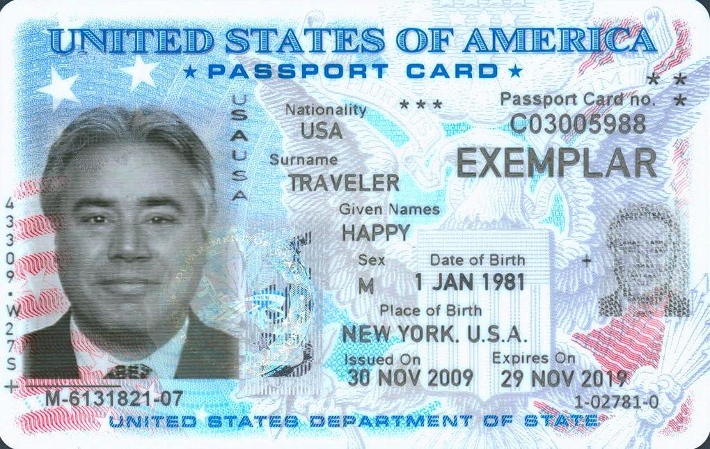 Us Passport Template Passport Template Psd Exaple