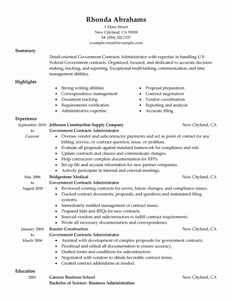 Usa Jobs Resume Builder