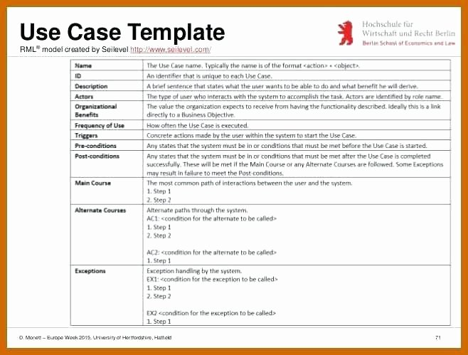 Use Case Template Word Document – Royaleducationfo