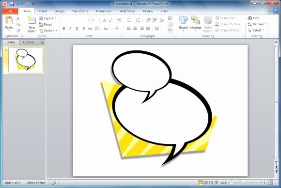 Useful Bubbles Shapes for Powerpoint Presentations