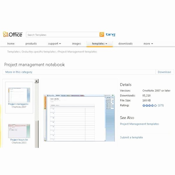 Using Ms Enote Project Management for organization