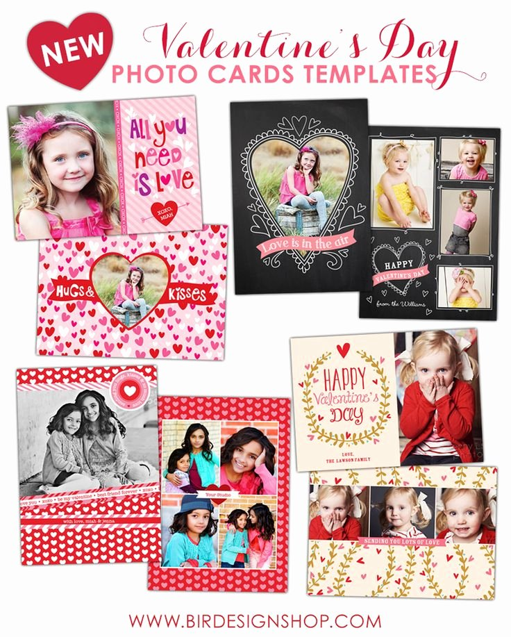 Valentine Greeting Cards Shop Templates